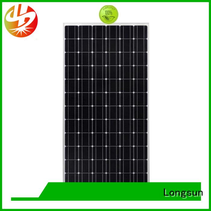 Longsun 280w highest rated solar panels vendor for marine