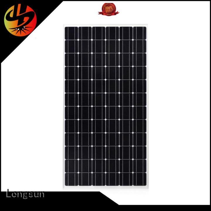 Longsun solar sunpower solar panels factory price for ground facilities