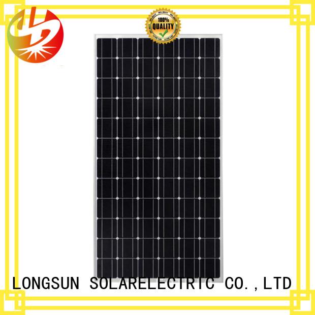 Longsun highout highest watt solar panel manufacturer for powerless area