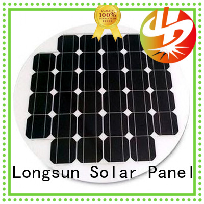 UV resistant circle solar panel 80w to decorative for other Solar applications