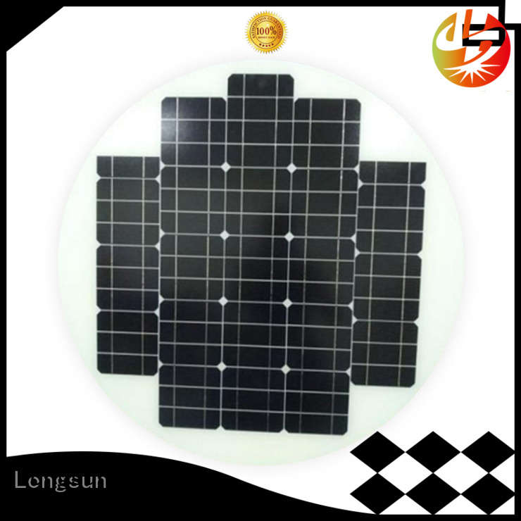 solar cell panel circle manufacturer for Solar lights