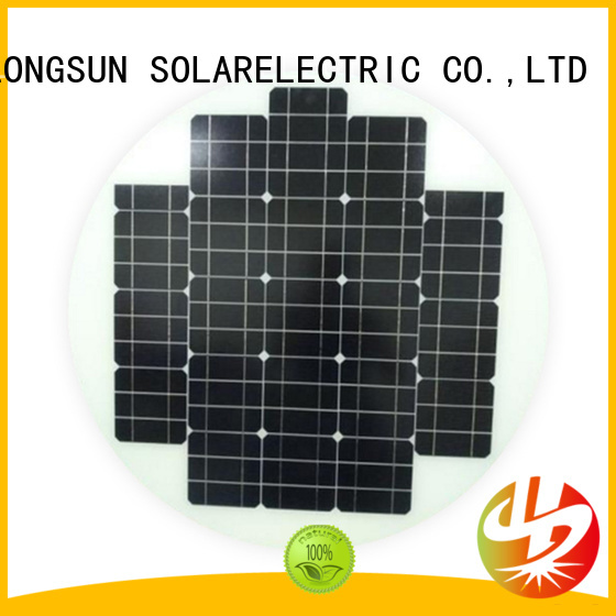 60w new solar panels producer for Solar lights Longsun