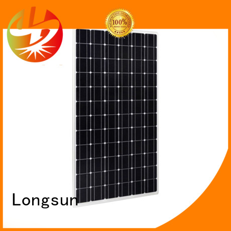 Longsun online high output solar panel manufacturer for meteorological