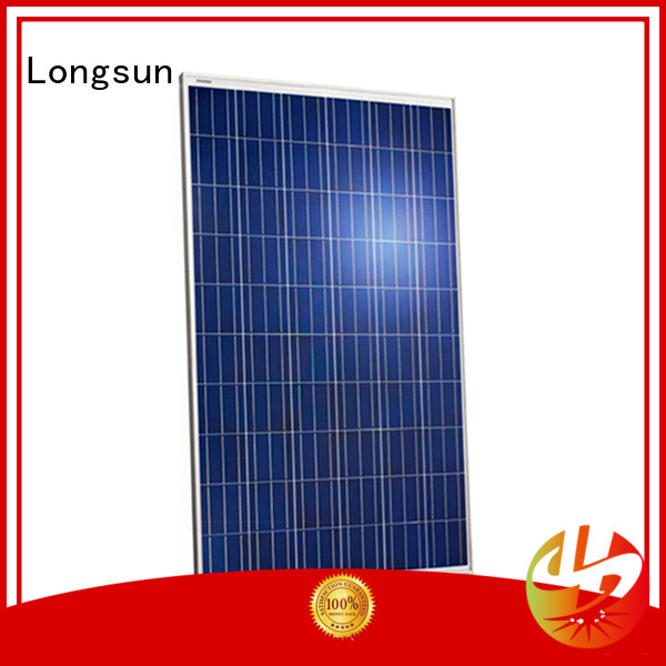 Longsun durable high quality solar panel vendor for photovoltaic power station