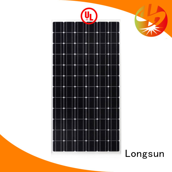 Longsun durable monocrystalline solar cell dropshipping for ground facilities
