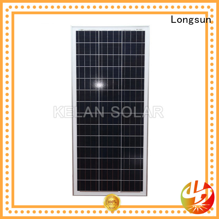 Longsun 100 watt polycrystalline solar panel owner for solar lawn lights