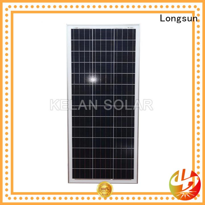 Longsun 100watt polycrystalline solar panel owner for solar lawn lights