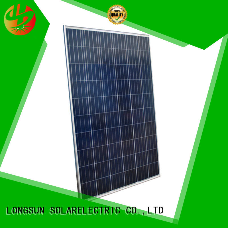 Longsun solar high watt solar panel for meteorological