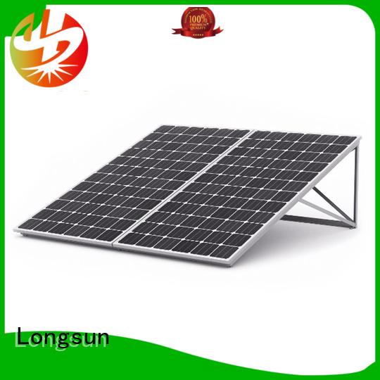Longsun series sunpower solar panels vendor for petroleum