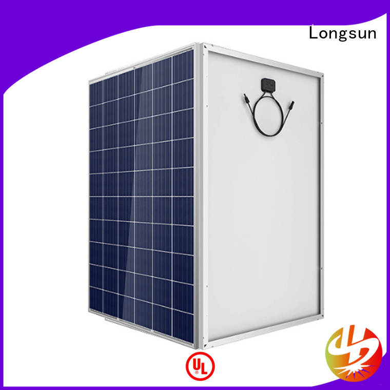 Longsun widely used high capacity solar panels manufacturer for traffic field