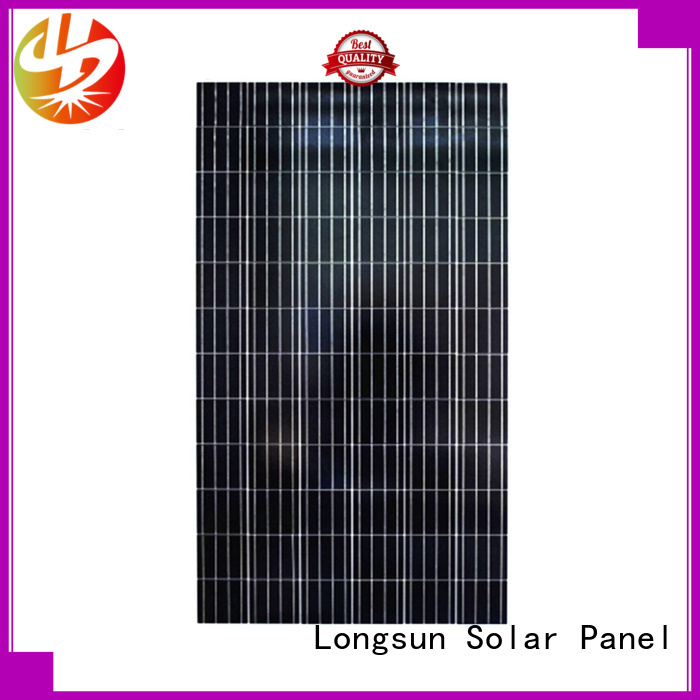 Longsun long-life poly solar panel directly sale for solar power generation systems