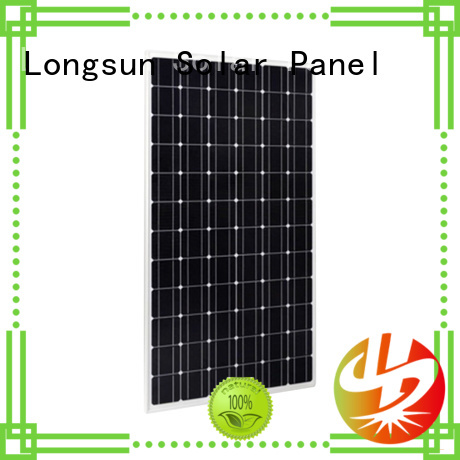 Longsun 330w high tech solar panels marketing for powerless area
