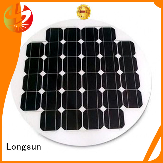 Longsun widely used round solar panels series for other Solar applications