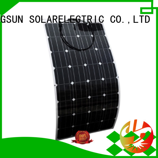 high-end semi-flexible solar panel flexible factory price for boats