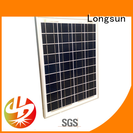 Longsun longsun solar  poly panel directly sale for communications