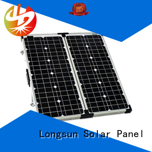 Longsun widely used foldable solar panel dropshipping for caravaning