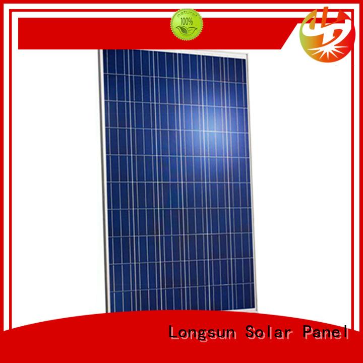 Longsun widely used highest watt solar panel vendor for meteorological