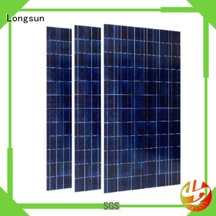 Longsun long-lasting highest rated solar panels marketing for communication field