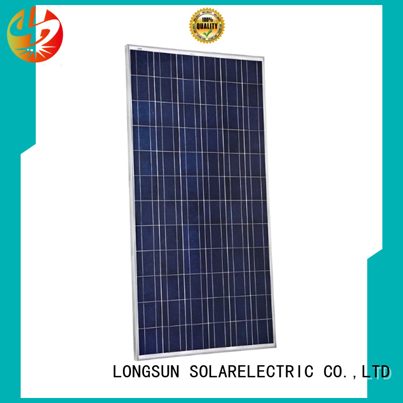 Longsun professional high power solar panels customized for marine