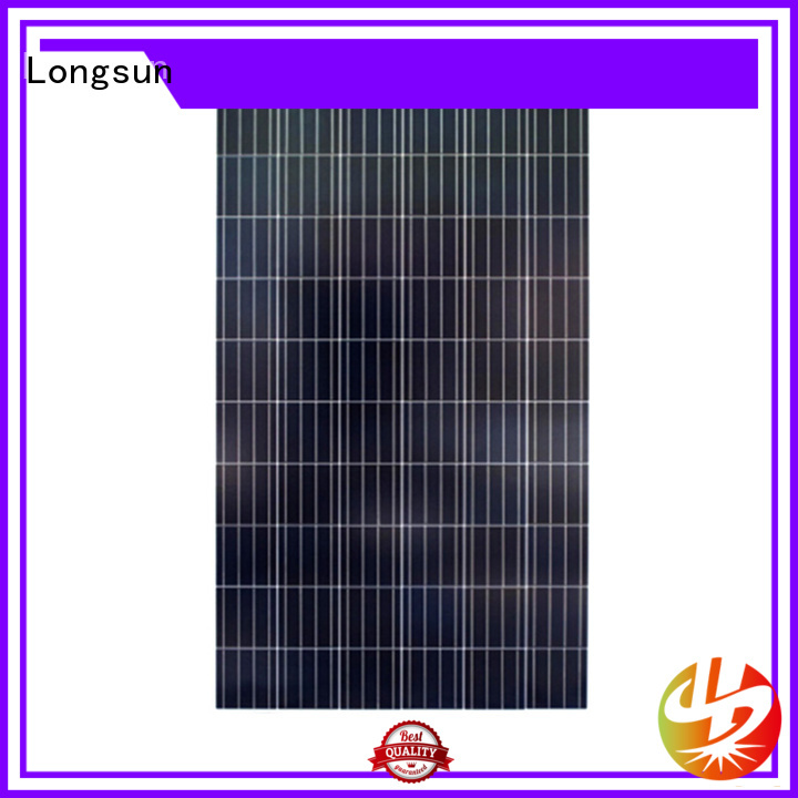 Longsun widely used solar cell panel directly sale for communications