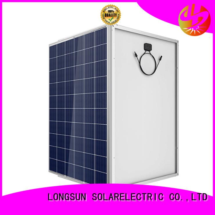 monocrystalline high capacity solar panels supplier for powerless area Longsun