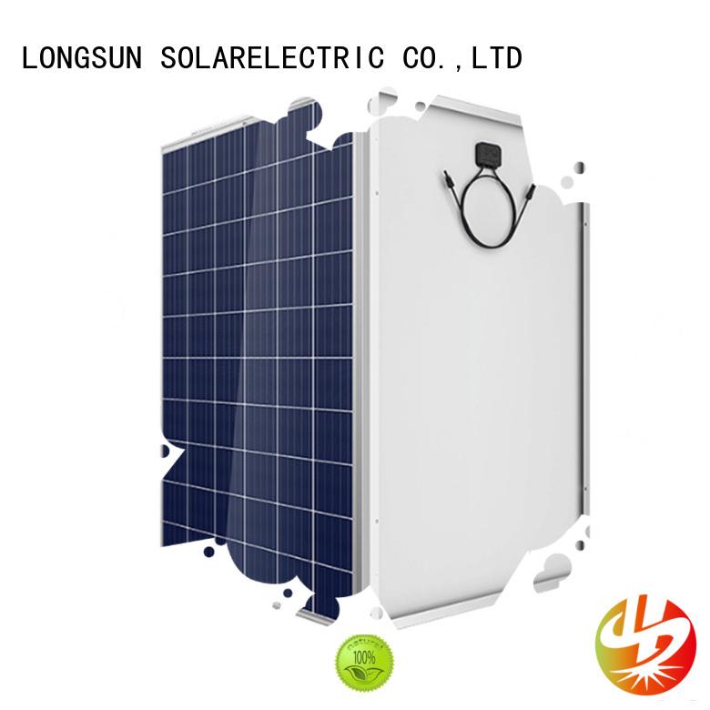 competitive price high watt solar panel 285w vendor for meteorological