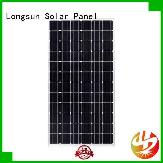 Longsun waterproof solar panel manufacturers supplier for space