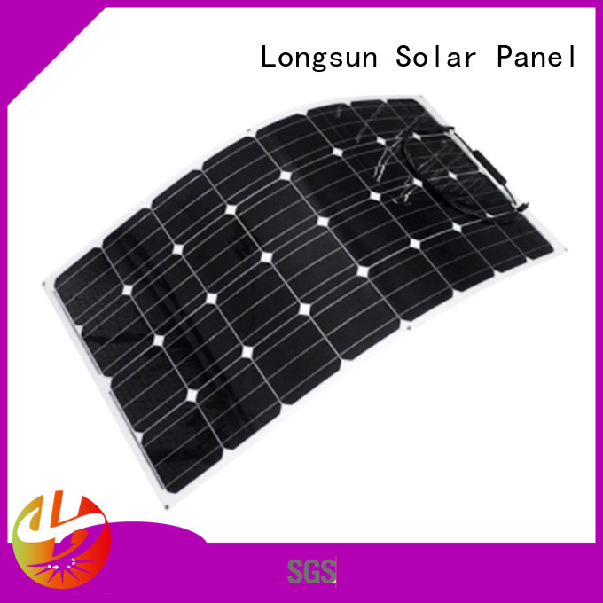 high-end advanced solar panels semi vendor for yachts