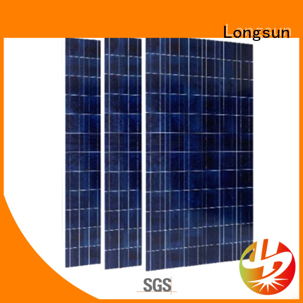 poly how much are solar panels 340w for lamp power supply Longsun