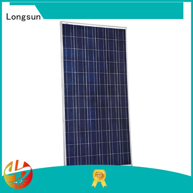 Longsun mono high tech solar panels wholesale for petroleum