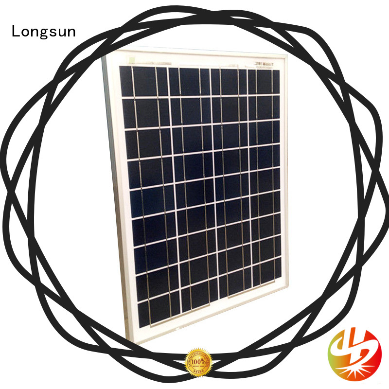 Longsun poly poly panel dropshipping for solar street lights
