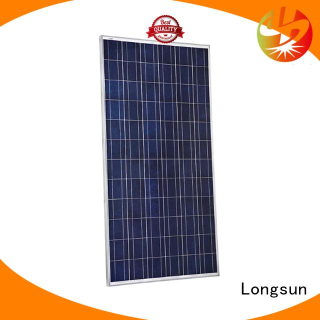 Longsun monocrystalline high tech solar panels factory price for traffic field
