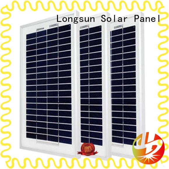Longsun natural poly panel order now for solar lawn lights