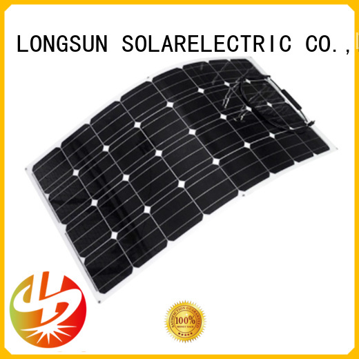 Longsun high-quality semi-flexible solar panel wholesale for roof of rv