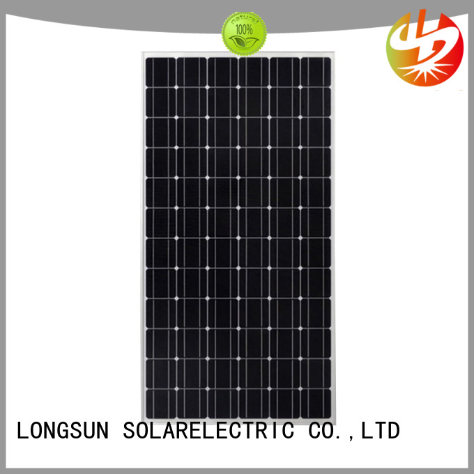 Longsun durable best solar panel company supplier for photovoltaic power station