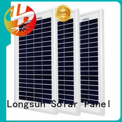 Longsun competitive price polycrystalline solar module owner for solar street lights