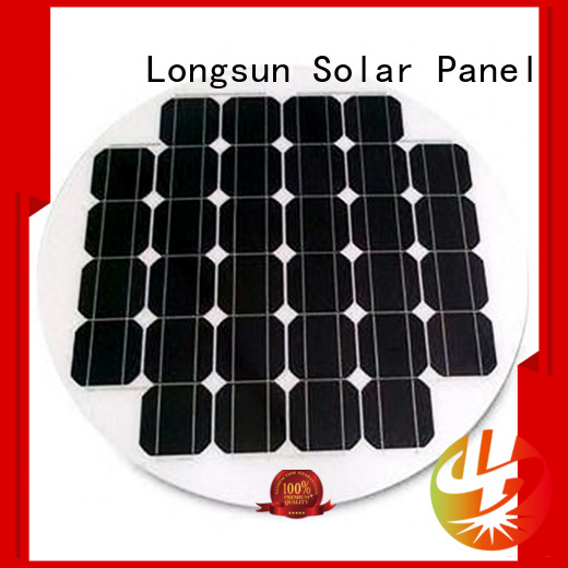 Longsun lights new solar panels series for Solar lights