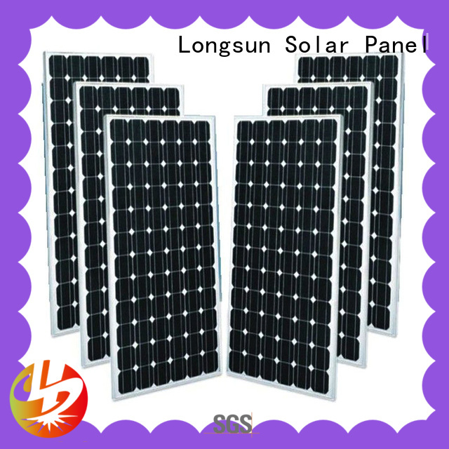 Longsun sturdy mono solar panel price overseas market for ground facilities