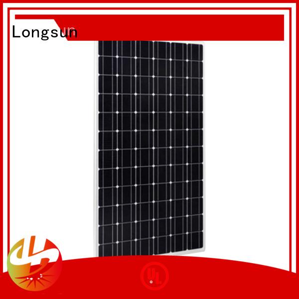 Longsun 350w high capacity solar panels vendor for communication field
