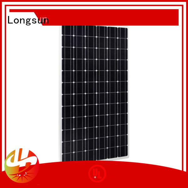 Longsun 270w highest rated solar panels series for marine