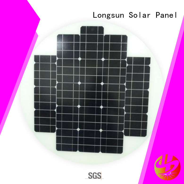 Longsun round circle solar panel customized for other Solar applications