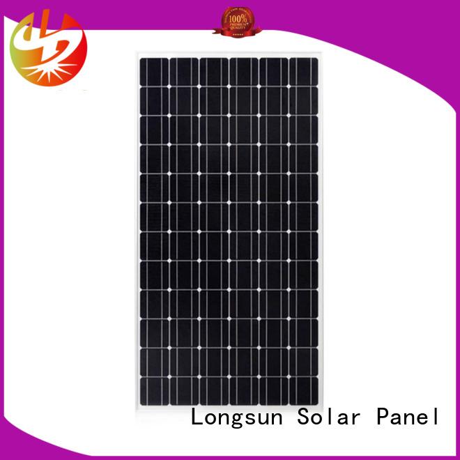 Longsun panel monocrystalline solar panel wholesale for ground facilities