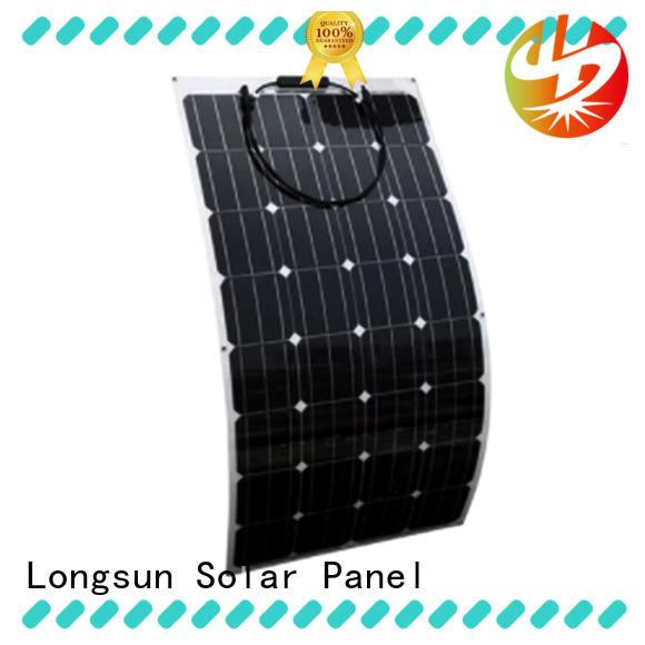 Longsun 60w panel solar flexible overseas market for boats