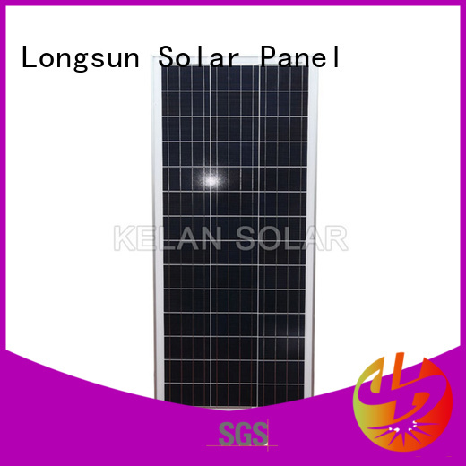 Longsun widely used poly solar panel supplier for solar lawn lights