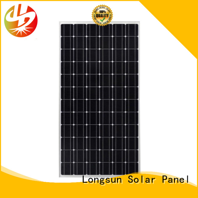 Longsun widely used sunpower solar panels supplier for communication field