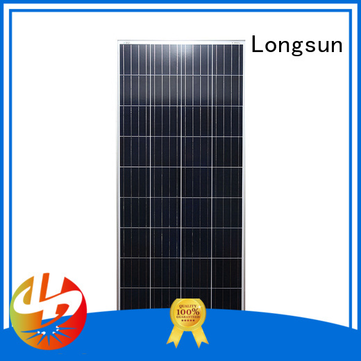 Longsun widely used polycrystalline solar panel supplier for communications