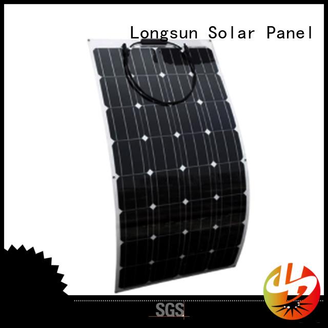 Longsun 60w advanced solar panels vendor for yachts