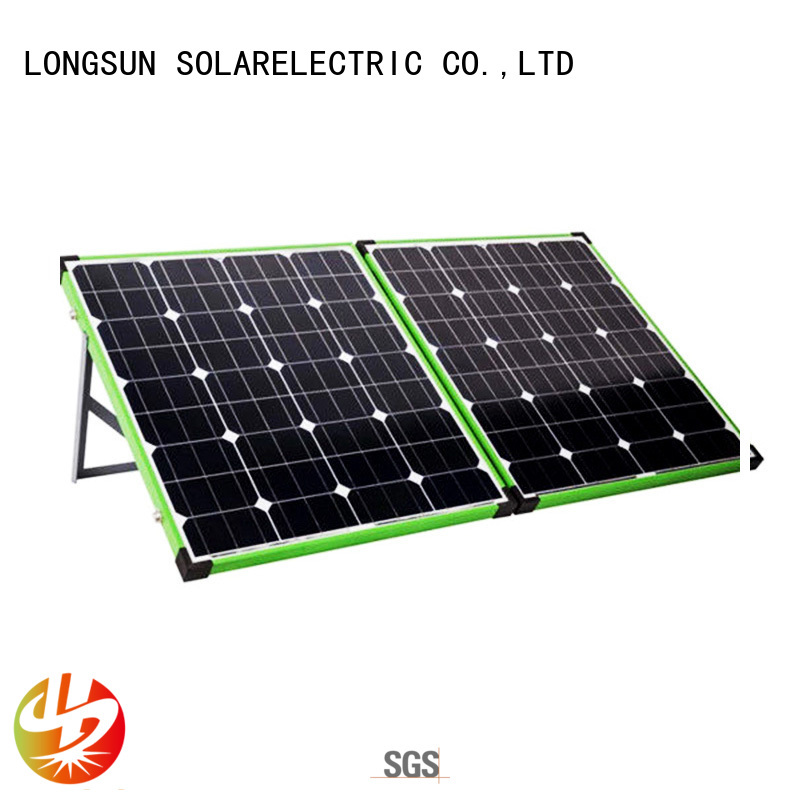 Longsun affordable price best foldable solar panel factory price for recreational activitie