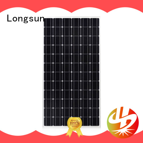 Longsun durable solar module 300wpmono for ground facilities