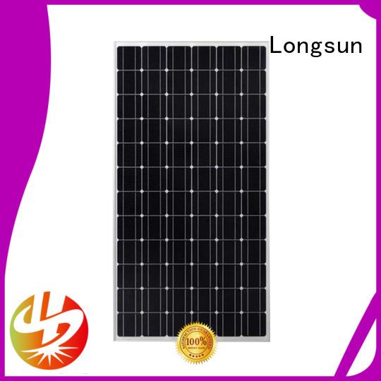 long-lasting high watt solar panel monocrystalline series for traffic field